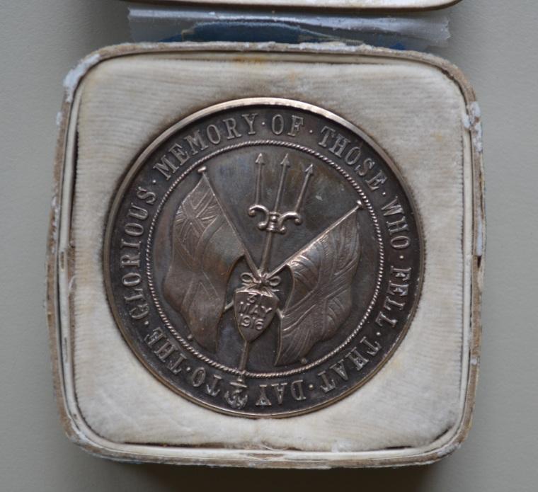 [Jutland medal] c. 1916, Spink & Son Ltd. Collections CCGW/CCGG