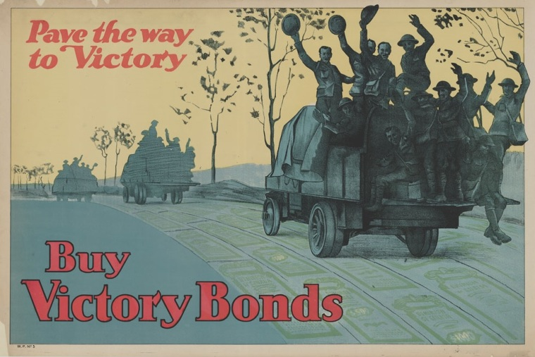 Pave the way to victory. 1914-1918. Library and Archives Canada, Acc. No. 1983-28-3035
