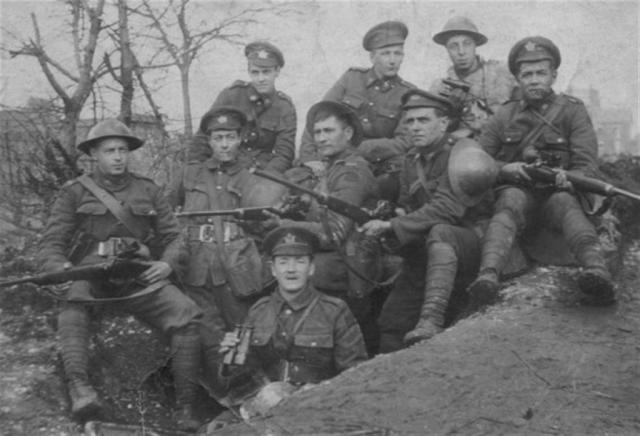 Canadian snipers with Ross rifles, c1914-1918, courtesy www.milsurps.com