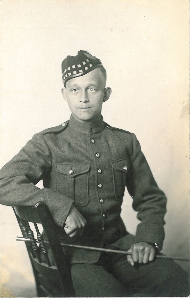 [W.N. Mitchell, 67th Battalion (Western Highlanders][c1915] Collections CCGW/CCGG