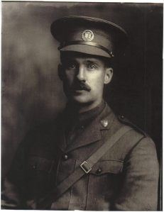 Captain Percival Molson MC, PPLCI. Photo courtesy http://www.findagrave.com