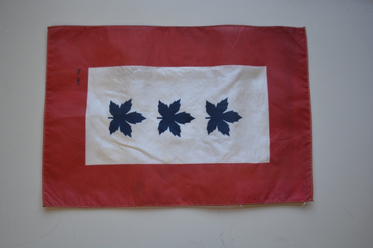 [Canadian Service Flag], 1917. Collections CCGW/CCGG 2014.01.24.01