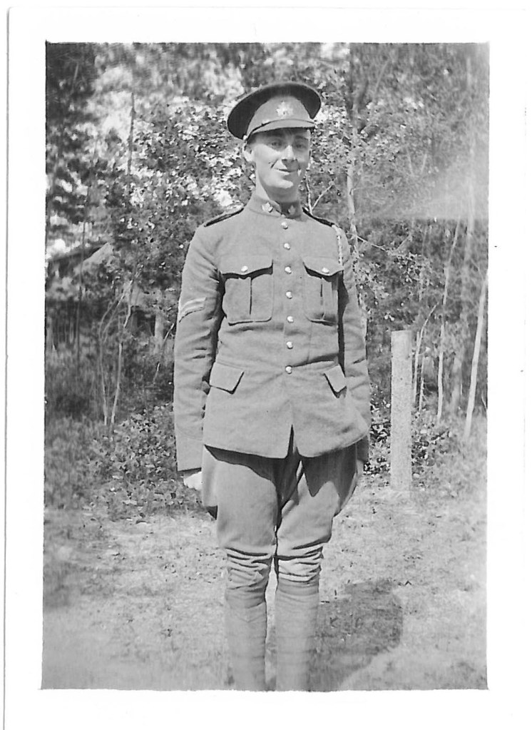 Private George Washington Hill. [c1915-1917]. Collections CCGW/CCGG