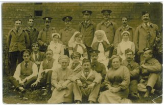 John Donald Andrews at 4th Scottish General Hospital in Glasgow, May 26, 1916. Collections CCGW/CCGG 2015.02.20.01