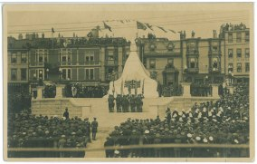 Dedication of the National War Memorial, St. John's. 1 July 1924. Collections CCGW/CCGG 2015.02.20.01