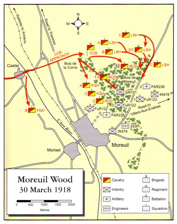 1918_Moreuil_Wood_Map_1