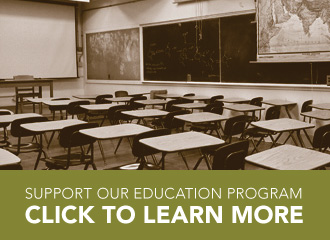 Support our education program - click to learn more