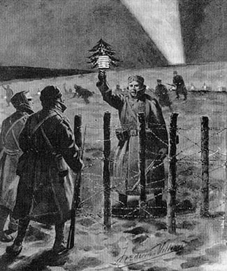 A Christmas truce on the Western Front